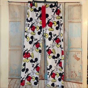 Mickey Mouse plush pajama pants so soft